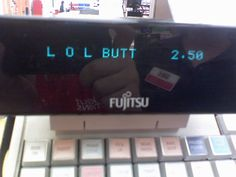 Look what happens when you ring up Land O Lakes butter on a grocery store cash register