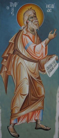 Isaiah Whispers of an Immortalist: Icons of Prophets 2 Prophet Isaiah, Byzantine Icons, Orthodox Christianity, Old Testament, Orthodox Icons, Religious Art, Saints, Bible, Illustration