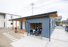 【Works】T's CASA House Front Door, Garage House, Japanese Design, Home Goods, House Plans, Houses, Architecture, House Styles, Interior