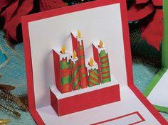 WEBS AMB RECURSOS DE NADAL - pop-up candles in this card
