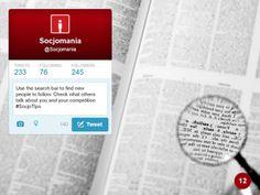 50 Twitter Tips (12). Full presentation: https://www.slideshare.net/Socjomania/the-ultimate-guide-to-twitter-50-useful-tips  #Twitter #TwitterTips #SocialMedia #SocialMediaTips