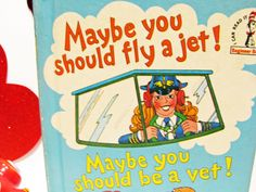 Beginner Books-  Maybe You Should Fly a Jet!  by Dr. Seuss (1980, Hardcover) by Theo Lesieg by ScrapPantry, $9.00 USD