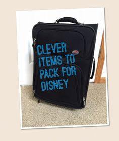 Unique items to include on your disney packing list (Bottle Bag Duct Tape) Disney World Tips And Tricks, Disney Tips, Disney Love, Disney Magic, Disney Stuff, Disney Secrets, Walt Disney World, Disney World Vacation, Disney Vacations