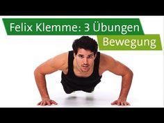 Bewegung - Funktionelles Training mit Felix Klemme - 3 Übungen zum Mitmachen - YouTube