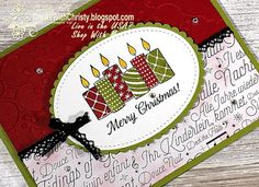 Create With Christy: Short & Sweet Saturday - Merry Patterns Host Set