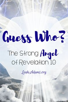 In the first verses of Revelation 10 a strong angel appears. There is debate about whether he is simply an angel or an appearing of Jesus. You be the judge.