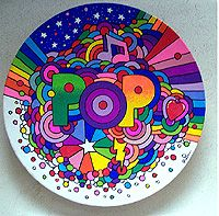 Pop Art Style Home Decor - Custom Painted Wood Bowls