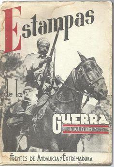 ESTAMPAS DE LA GUERRA. Album Nº 5. De ANDALUCIA y EXTREMADURA de 1938 - 1939 - Foto 1