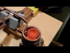 Video of the induction heater melting stuff will be out next! This is how to build a powerful water cooled induction heater capable of getting iron and . Electronics Storage, Electronics Projects, Hf Radio, Physics Projects, Induction Heating, Electrical Diagram, Copper Tubing, Lead Acid Battery, Arduino