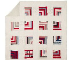 gee's bend quilts | ... Barn Museum Collection Gee's Bend Half Log Cabin Patchwork Quilt