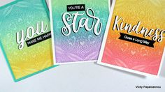How to use (metal) embossing texture plates