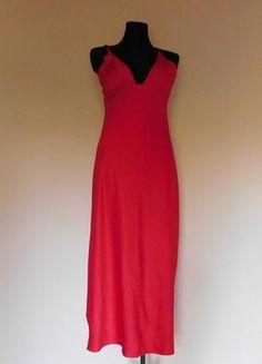 Kup mój przedmiot na #vintedpl http://www.vinted.pl/damska-odziez/bielizna-inne/15956584-love-to-lounge-czerwona-sexy-dluga-koszula-nocna-halka-38-40