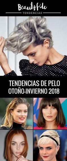 Lo que viene en tendencias de cabello otoño-invierno 2018 #Hairtrends Hairstyles, Hair Care, Fall Winter, Red, Haircuts, Hairdos, Hair Styles, Hair Looks, Hair Cuts