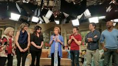 Chris Colfer at the final taping of Hot in Cleveland on April 1st, 2015.
