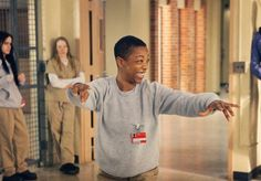 Poussey, Orange is the New Black, great tv, Netflix, great smile