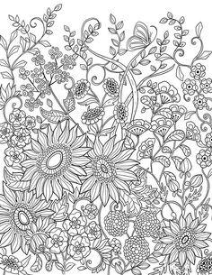 """flower garden """"mon jardin intérieur"""""""