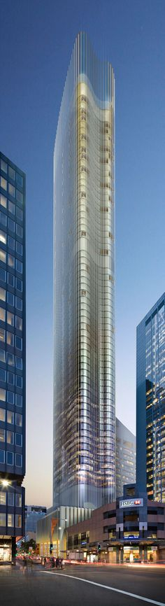 Tower in 115 Bathurst Street by KANNFINCH Architects