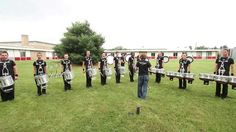 Legends Drumline 2013... I love the tonal bass drums!