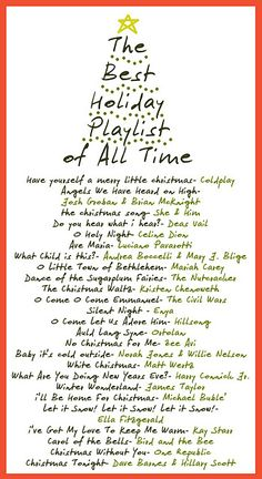Great Christmas playlist !