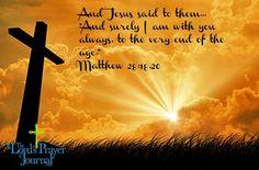 And jesus said...