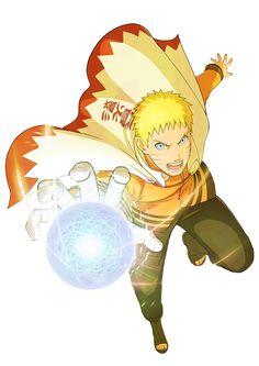 Naruto HOKAGE - RENDER