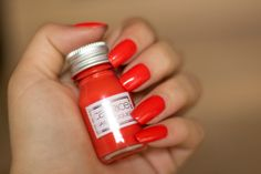 "Catrice ""Travelight Story"" Limited Edition Nail Laquer C01 ""Chilly Orange"" 