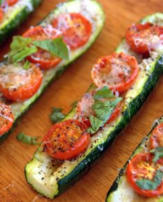 Low FODMAP Vegetarian Recipe and Gluten Free Recipe - Zucchini with tomato & Parmesan