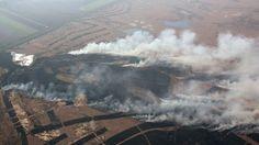 527 hectare van natuurpark Hoge Veluwe afgebrand