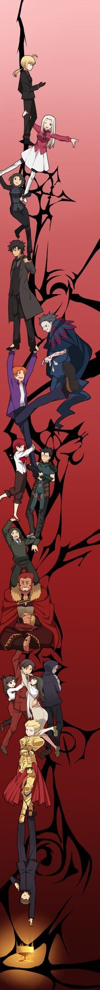 Fate/zero x Durarara!! This made me so happy!