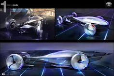 トヨタ・デザイン。ネットワークが製作した「e-grus」鶴をヒントにデザインしたらしい。未来の車デザインまとめ