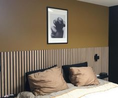 Home Bedroom, Bedroom Wall, Master Bedroom, Home Staging, Interior Design Inspiration, Home Interior Design, Kitchen Cabinets On A Budget, Wooden Wall Panels, New Room