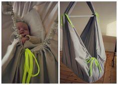 Sidste vinter lavede jeg en slyngevugge til lille nye baby-Ingrid. Der har siden været mange der har spurgt efter en DIY på sådan en sag, ...