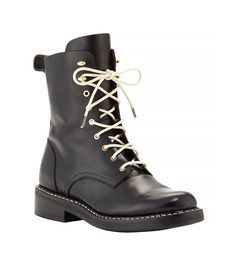 Rag & Bone Emil Leather Combat Boots