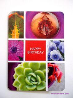 Happy Birthday Card NEW ITEM by chromeCHARM on Etsy