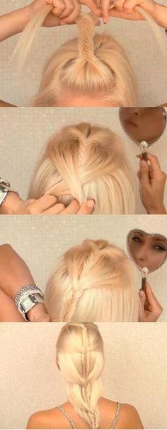 How to do this gorgeous hairdo! =)