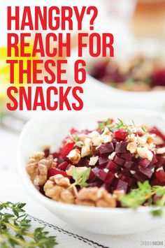 These healthy snacks are serious HANGER fighters ;)