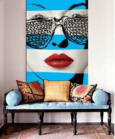Be bold with your art and furnishings Chantal Leger Art