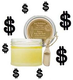 Lemon (Or Lime) Sugar (Or Salt) Scrub    Ingredients:    1/2 cup sugar or 1/2 cup salt  1 tablespoon olive oil  2 tablespoons lemon juice    Directions:    1  Mix all ingredients in a small bowl.  2  Apply to hands or feet above the tub or sink, so you don't make a mess. Scrub thoroughly for 2-3 minutes.  3  When done scrubbing, rinse briefly with lukewarm water and pat dry.  4  Apply your favorite moisturizer if desired.