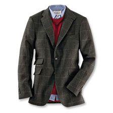 Hunting Tweed-Sakko von Kinbury in Hunting Green      bestellen - THE BRITISH…