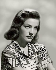 Lauren Bacall those eyes are literally killer! can you trust them or not? I love it