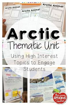 arctic thematic unit- love how the teacher tied in author's purpose, research projects, citing evidence, and so much more! Perfect for Jan or Feb