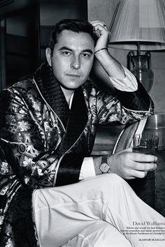 David Walliams for Vogue, June 12.  Fantastic photo.