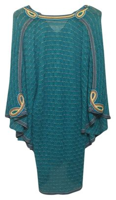 f7233ae182 Calypso St. Barth Turquoise Cover-up/Sarong Size OS (One Size) 55% off  retail