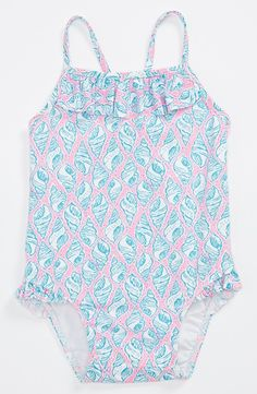 Lilly Pulitzer® One Piece Swimsuit (Baby Girls)