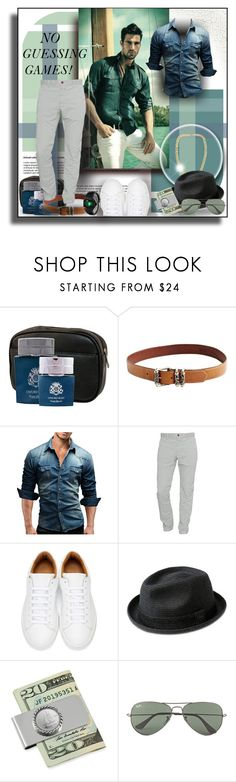 """""""NO GUESSING GAMES!"""" by angelflair ❤ liked on Polyvore featuring Trilogy, English Laundry, Chrome Hearts, Closed, Marc Jacobs, Bailey of Hollywood, American Coin Treasures, Ray-Ban, men's fashion and menswear"""