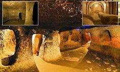 Underground 18-storey city in Turkey housed 20,000 people