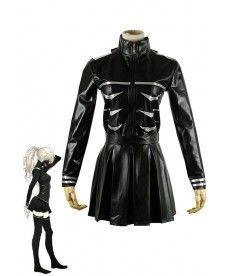 Tokyo Ghoul Cosplay Kaneki Ken Costume Female Black Fighting Dress