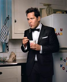 Paul Rudd. Who doesn't like him? No one. He's like the Paul Newman of the 2000s.