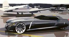 Jae Han Song 2023 Lincoln Continental Coupe concept