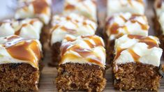 Gulrotkake i langpanne med karamell | Godt.no Good Food, Yummy Food, Meatloaf, Nom Nom, Muffin, Food And Drink, Sweets, Baking, Breakfast